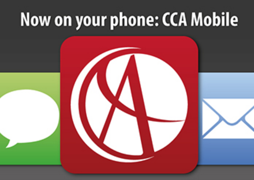 Now on your phone CCA Mobile