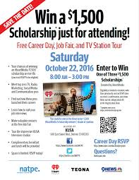 Free Career Day, Job Fair, & TV Station Tour