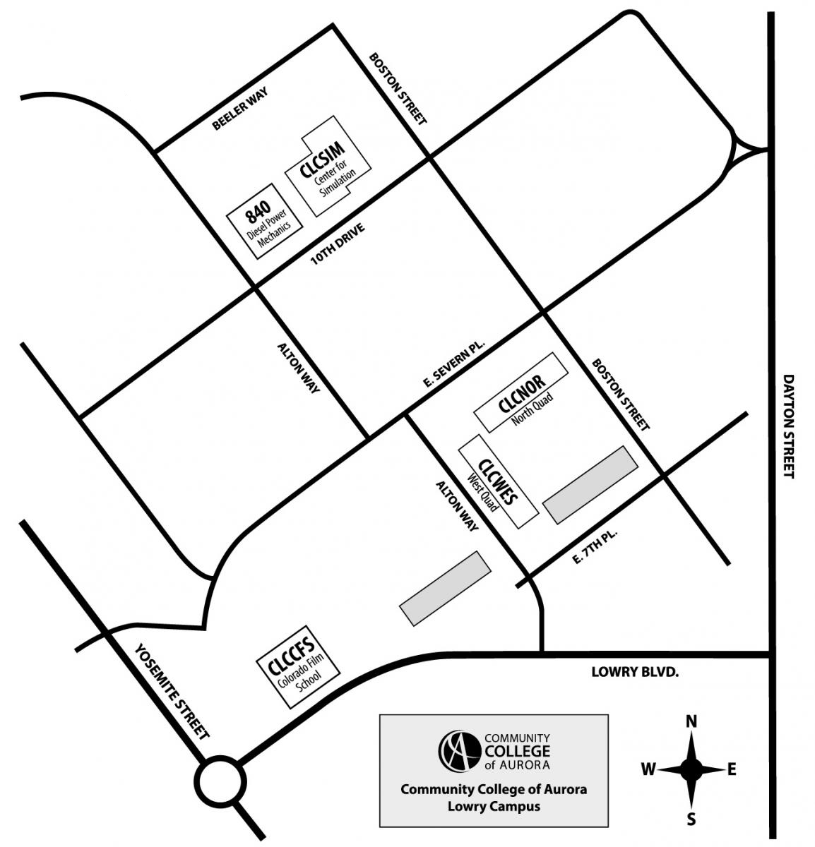 Maps of Lowry campus