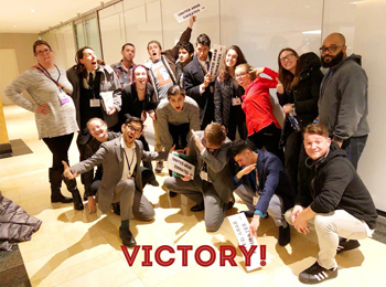 CCA students celebrate winning Distinguished Delegation at National Model United Nations
