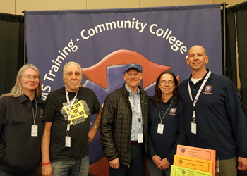 Allied Health members pose during an EMS Conference in Colorado