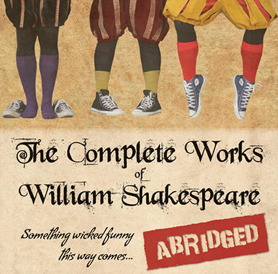 Complete works of shakespeare at CCA in Colorado July 10-19