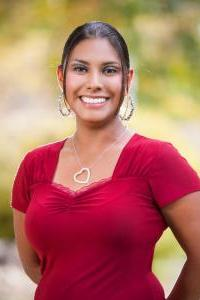 Vanessa Andrade, a student at Community College of Aurora in Colorado