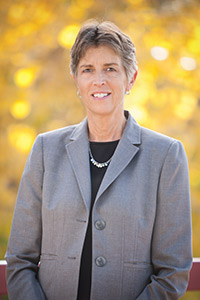 Betsy Oudenhoven, President Community College of Aurora, located in Aurora Colorado