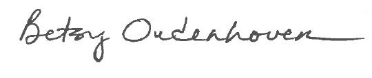 Betsy Oudenhoven Signature