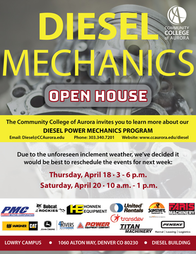 Diesel Mechanics Open House