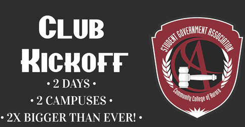 Club Kickoff - 2 Days - 2 Campuses - 2 Times Bigger Than Ever