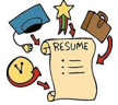 Resume and job search icon